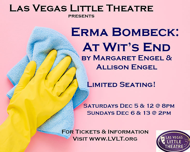 ERMA BOMBECK: AT WIT'S END with safe practice performances December 2020